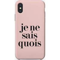 Je Ne Sais iPhone Case