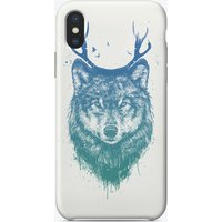 Deer wolf iPhone Case
