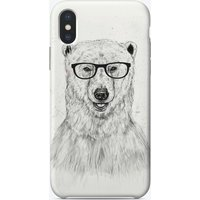 Geek bear iPhone Case