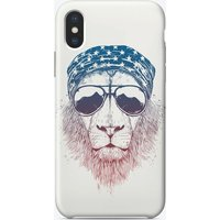Wild lion iPhone Case
