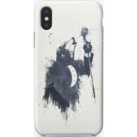 Wolf song iPhone Case