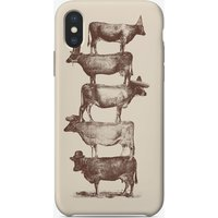Cow Cow Nuts iPhone Case