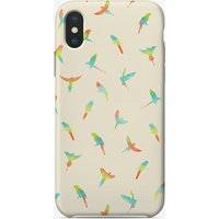 Parrots Pattern iPhone Case