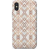 Copper Geo iPhone Case
