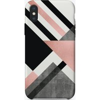 Foldings In Pink iPhone Case