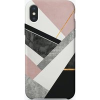 Lines And Layers iPhone Case