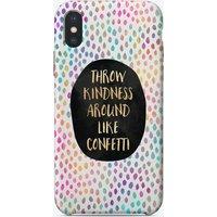 Throw Kindness Around Like Confetti iPhone Case