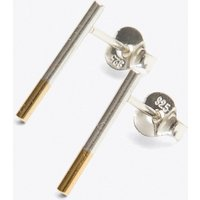 Dipped Wire Studs Gold