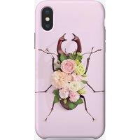 Floral Beetle iPhone Case