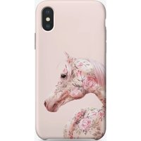 Floral Horse iPhone Case