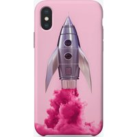Pink Rocket iPhone Case