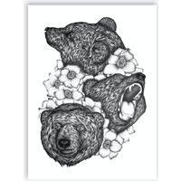 Bears In Bears Print