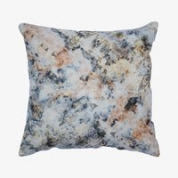 Hand Dyed Logwood And Iron Silk Cushion