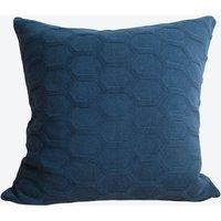 Herdis Cushion Cover in Dark Blue