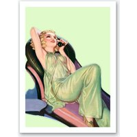 Pin-up IV Art Print