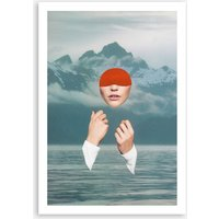 Picture Yourself Somewhere Peaceful Print