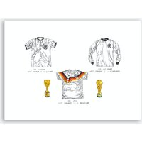 World Cup Winners Germany Art Print