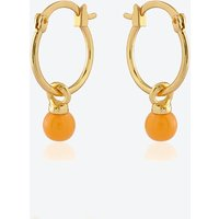 18k Gold Plated Earring Duo Set