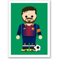 Toy Messi Art Print
