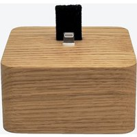 Oak iPhone Dock Square