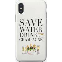Save Water Dink Champagne iPhone Case