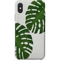 Monstera Leaf II iPhone Case
