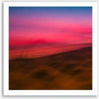 Dunedu Pilat Abstract Square Art Print