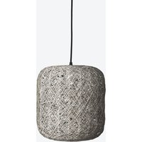 Small Spin Pendant Lamp in Grey