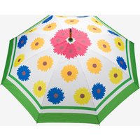 Windproof Auto Open Large Umbrella In Multi Bloom Design