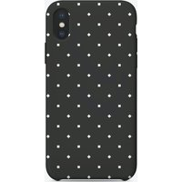 Geometrical Pattern Black and White iPhone Case