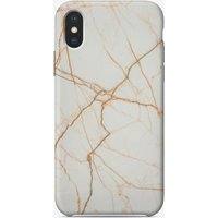 Golden Marble iPhone Case