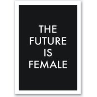 The Future Is Female in Black
