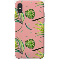 Tropical Pink Pattern iPhone Case