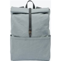 Backpack In Oyster And Stone