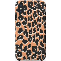 Peach Leopard iPhone Case