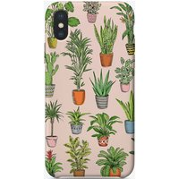 Houseplants Pink iPhone Case