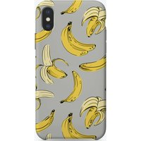 Grey Banana iPhone Case