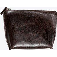 Husky Toiletry Bag in Brown/Saddle