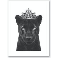 The Queen Panther Art Print