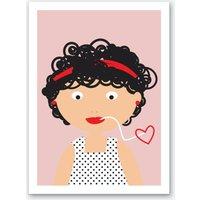 Pasta Love Art Print