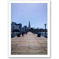 Pier 5 Art Print
