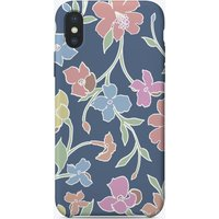 Floral Club iPhone Case