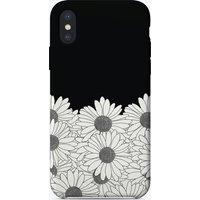 Daisy Black Boarder iPhone Case