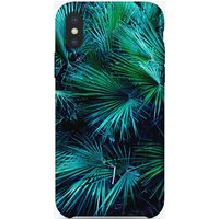 Amoung the Palm Leaves iPhone Case