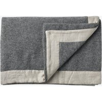 Gotland Wool Throw in Grey