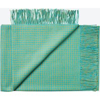 Nazca Baby Alpaca Throw in Turquoise