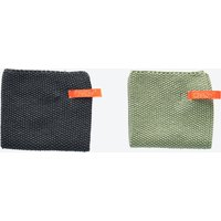 Dishcloth in Pale Mint/ Grey (Set of 2)