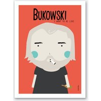 Little Bukoski Art Print