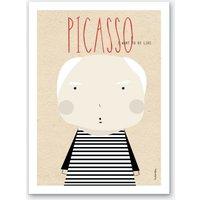 Little Picasso Art Print