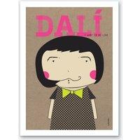 Little Dali Art Print
